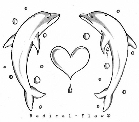 Dolphin tattoo