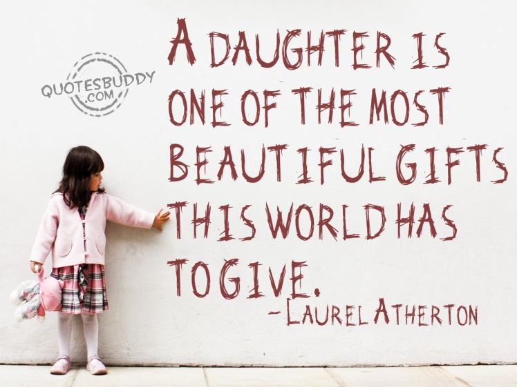 Daughter is a gift
