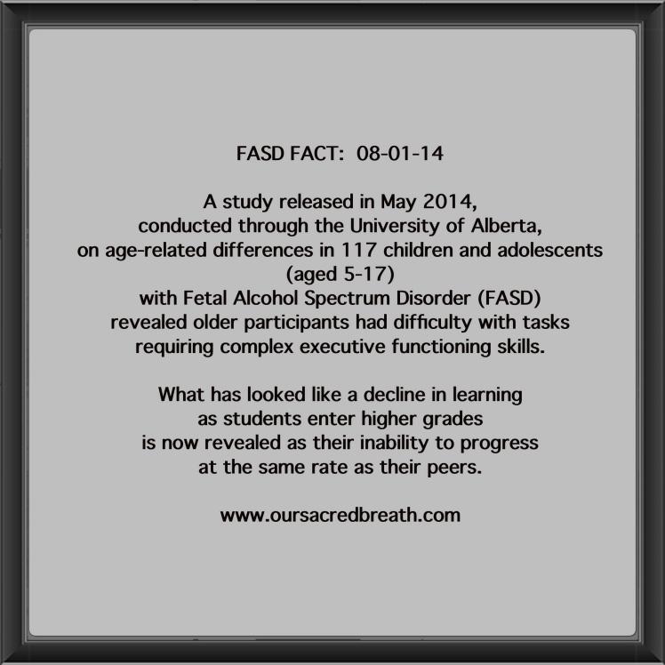 FASD Friday Fact