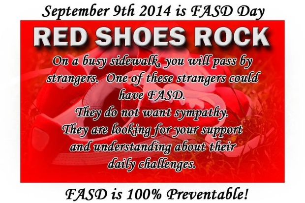 FASD Red Shoes Rock