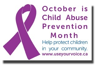 October is Child Abuse Prevention