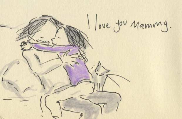 hugging time