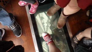 Trip to TO 2015 - CN Tower - Glass Bottom Elevator