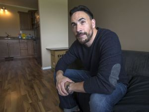 SASKATOON,SK-- July 15/2016 9999 news Myles Himmelreich--- Myles Himmelreich, who has FASD and has been in and out of the court system, is photographed at his home in Saskatoon Friday, July 15, 2016. He now travels around speaking about FASD, its affects and what needs to be done to address it in the justice system. (GREG PENDER/STAR PHOENIX)