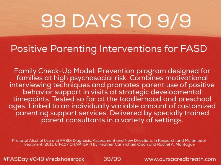 Day 39 of 99 Days to FASDay