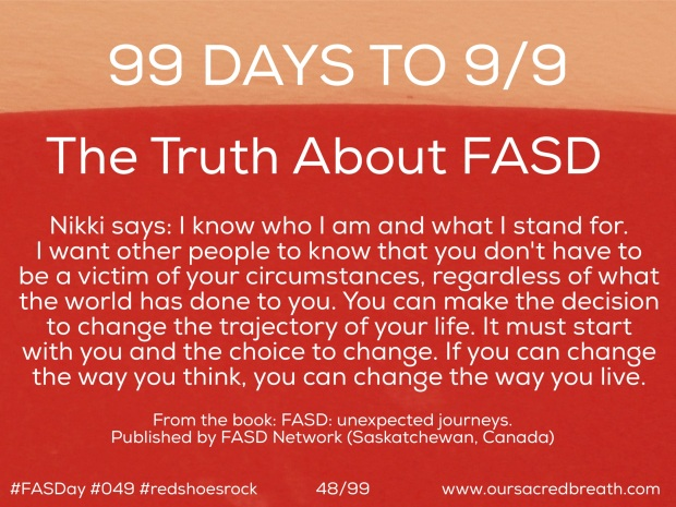 Day 48 of 99 Days to FASDay