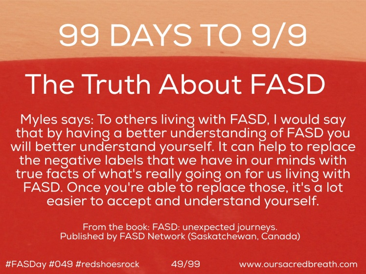 Day 49 of 99 days to FASDay