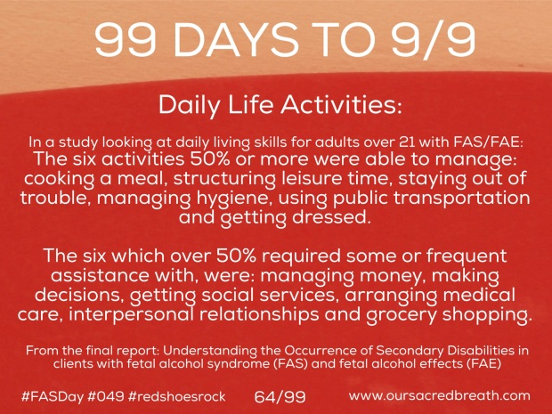 Day 64 of 99 Days to FASDay