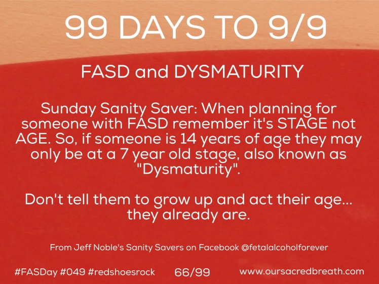 Day 66 of 99 Days to FASDay