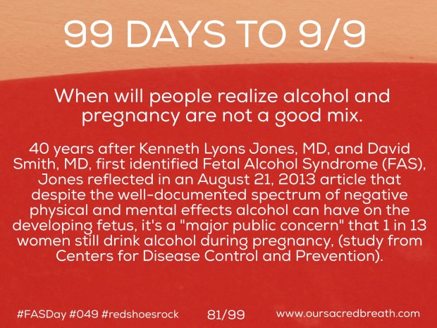 Day 81 of 99 Days to FASDay