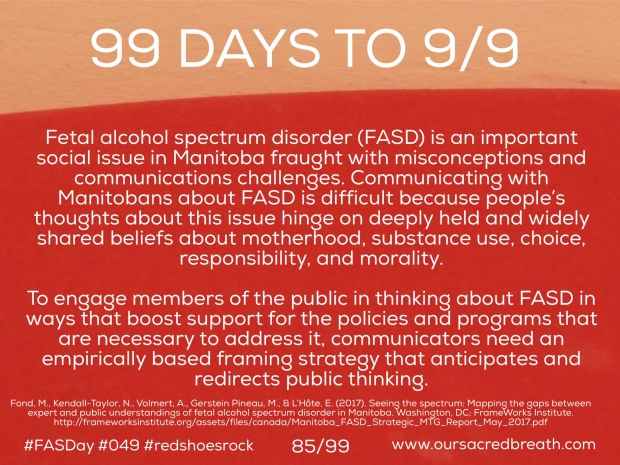 Day 85 of 99 Days to FASDay