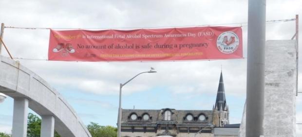 FASD Banner in Belleville