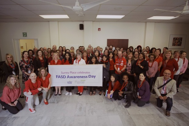 Surrey Place celebrates FASD Awareness Day